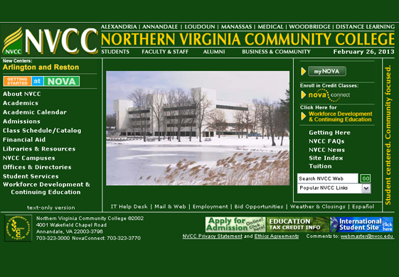 NVCC Home Page